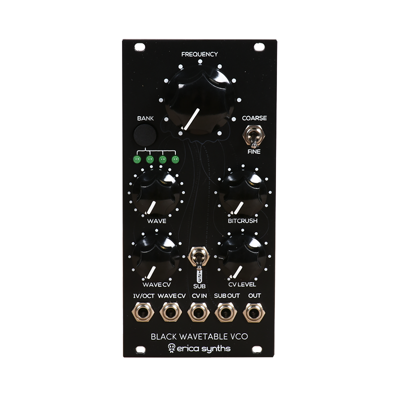 Black Wavetable VCO