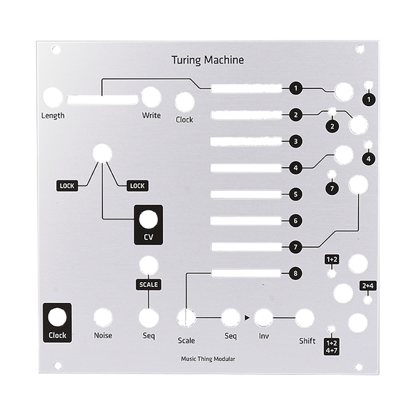 Music Thing Turing Machine Hybrid Panel