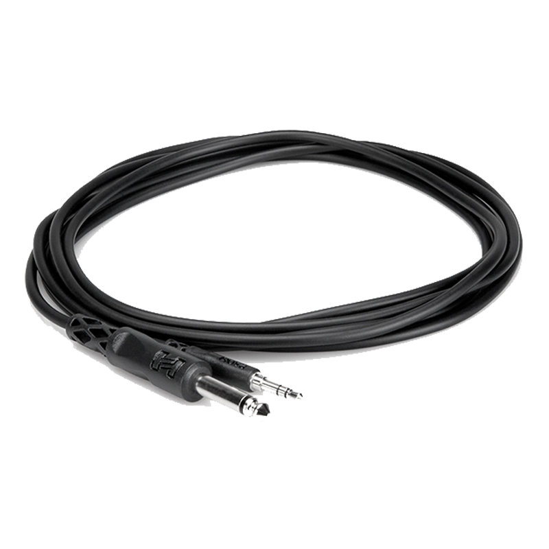"CMP-103 1/4"" TS to 3.5mm TRS Cable - 3ft"