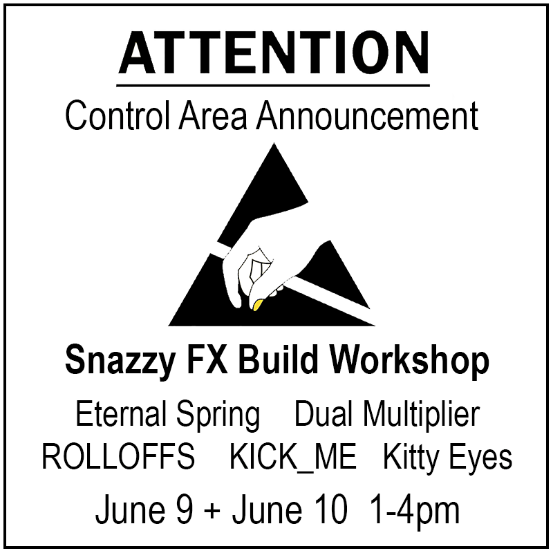 DIY Build Workshop at Control