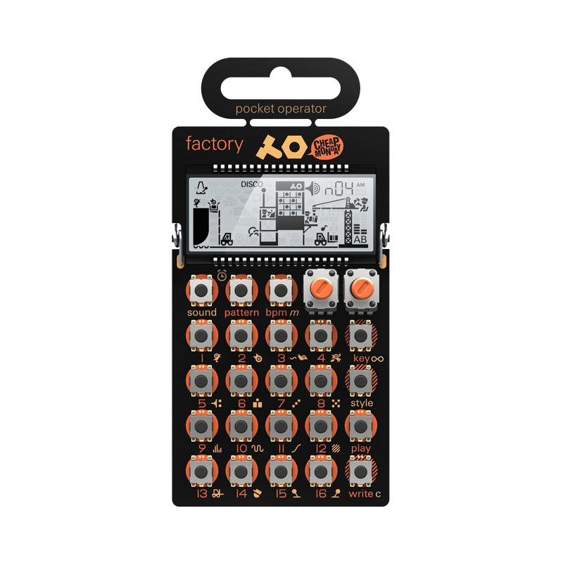 PO-16 Pocket Operator Factory