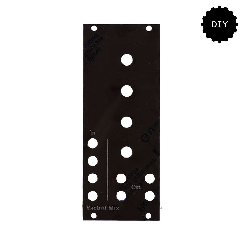 Turing Machine Vactrol Mix Expander DIY Kit (Sweeping Arcs Faceplate)