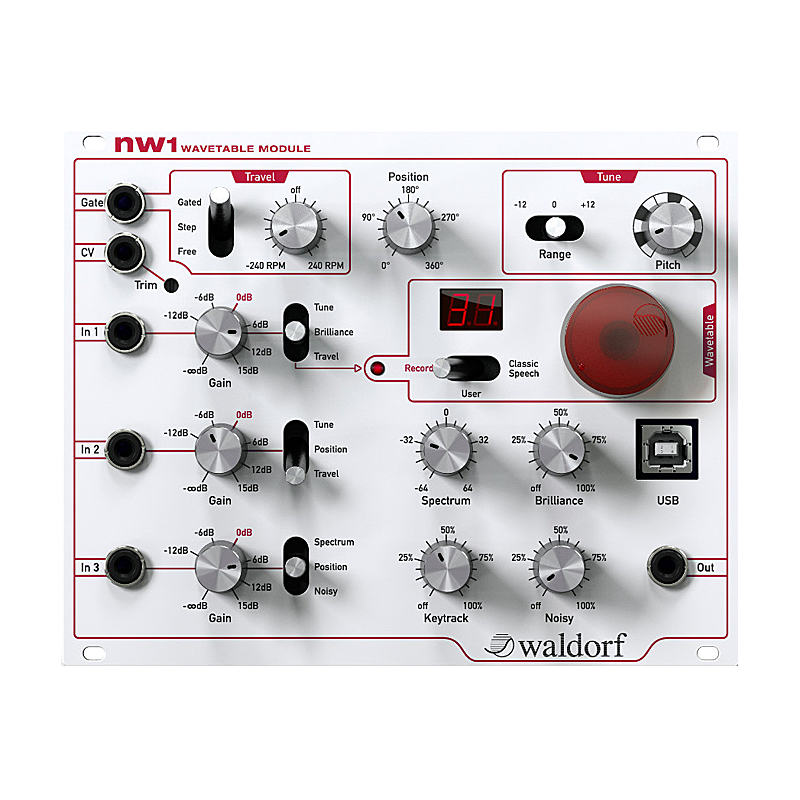 NW1 Wave Table Module