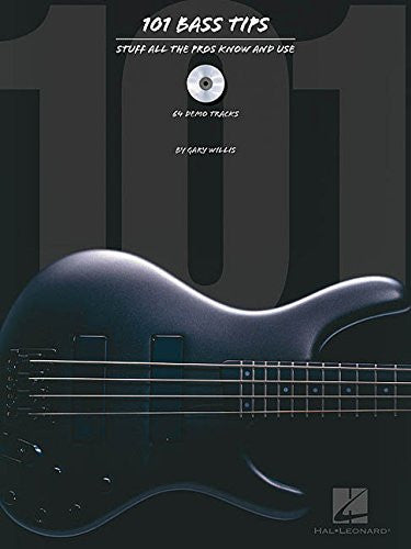 101 Bass Tips, by Gary Willis (Book/Audio)