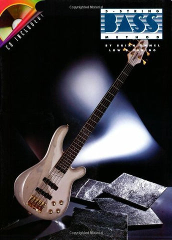 5-String Bass Method, by Brian Emmel (Book/Audio)