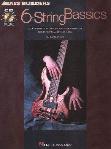 6-String Bassics, by David Gross (Book/Audio)