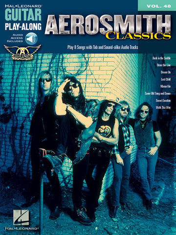 Aerosmith Classics - Guitar Play-Along (Book/Audio)
