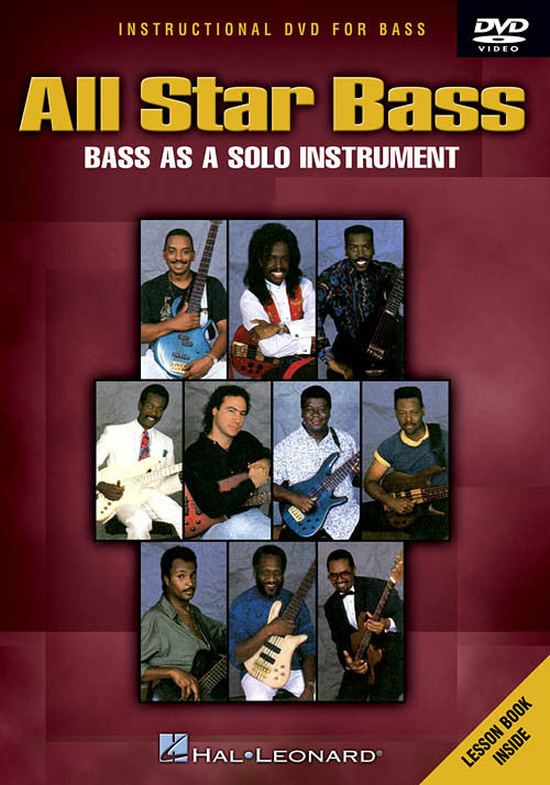 All-Star Bass: Bass As A Solo Instrument (DVD)