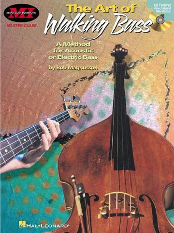 The Art of Walking Bass, by Bob Magnusson (Book/Audio)