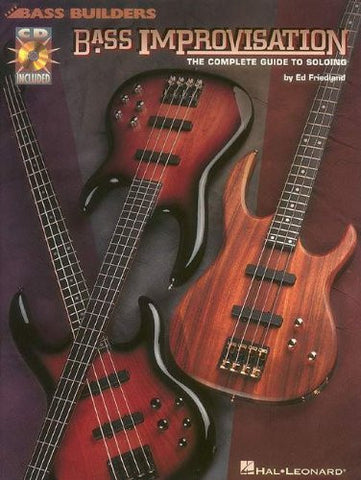 Bass Improvisation, by Ed Friedland (Book/Audio)
