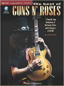 The Best of Guns N' Roses, by Jeff Perrin (Book/Audio)