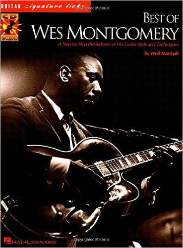 Best of Wes Montgomery, by Wolf Marshall (Book/Audio)