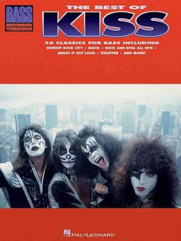 Best of KISS for Bass Guitar