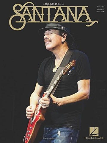 The Best of Santana (Piano, Vocal, Guitar)