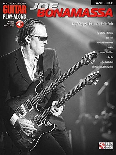 Joe Bonamassa - Guitar Play-Along (Book/Audio)