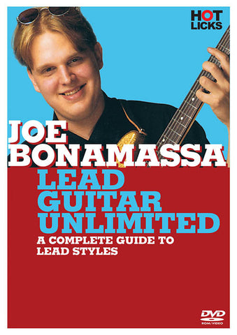 Joe Bonamassa – Lead Guitar Unlimited (DVD)