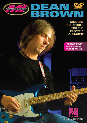 Dean Brown: Modern Techniques for the Electric Guitarist (DVD)