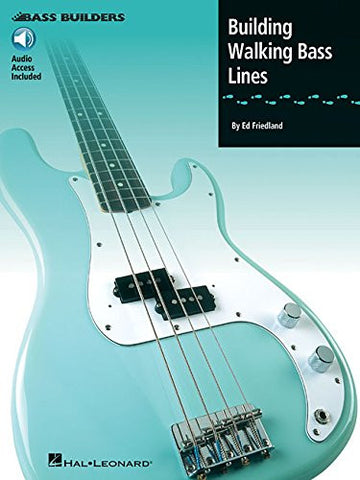 Building Walking Bass Lines (Book/Audio)