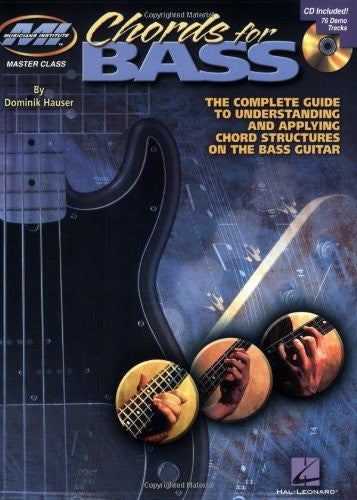 Chords for Bass, by Dominik Hauser (Book/Audio)