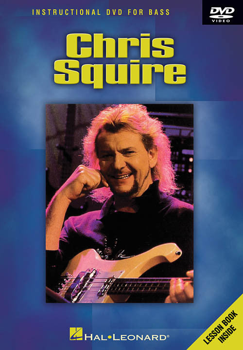 Chris Squire Instructional DVD For Bass