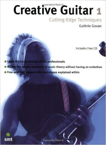 Creative Guitar 1, by Guthrie Govan (Book/Audio)