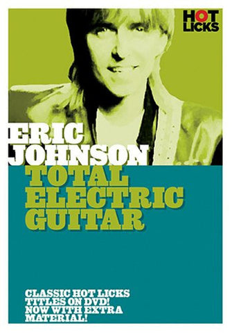 Eric Johnson – Total Electric Guitar (DVD)