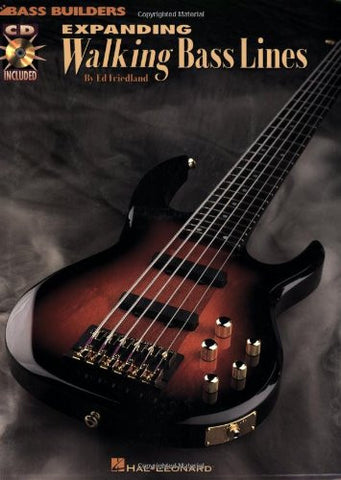 Expanding Walking Bass Lines, by Ed Friedland (Book/Audio)