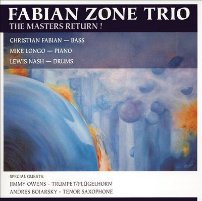 "Fabian Zone Trio, ""The Masters Return"" (Audio CD)"