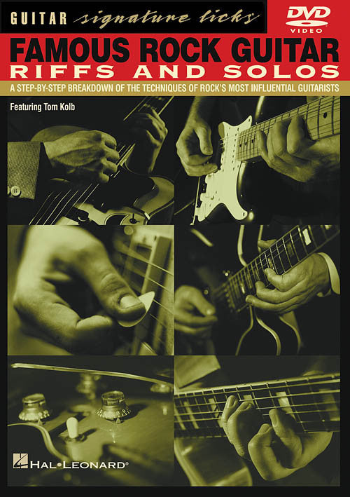 Famous Rock Guitar Riffs and Solos (DVD)