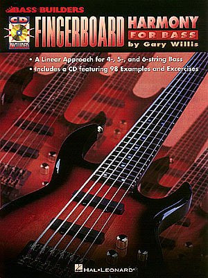 Fingerboard Harmony for Bass, by Gary Willis (Book/Audio)