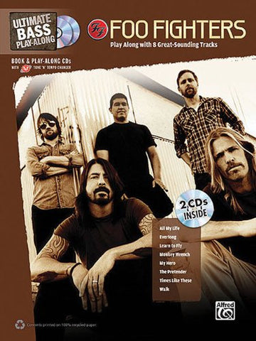 Foo Fighters Ultimate Bass Play-Along (Book/Audio)
