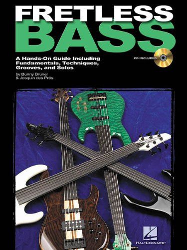 Fretless Bass, by Josquin des Pres and Bunny Brunel (Book/Audio)