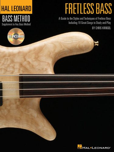 Fretless Bass, by Chris Kringel (Book/Audio)