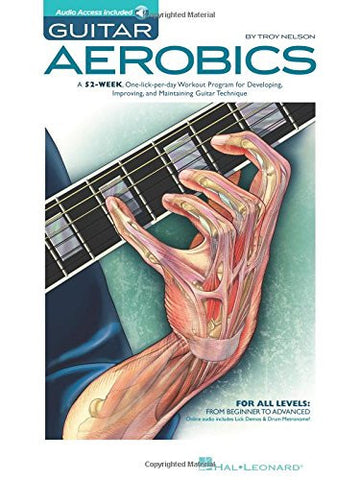 Guitar Aerobics, by Troy Nelson (Book/Audio)