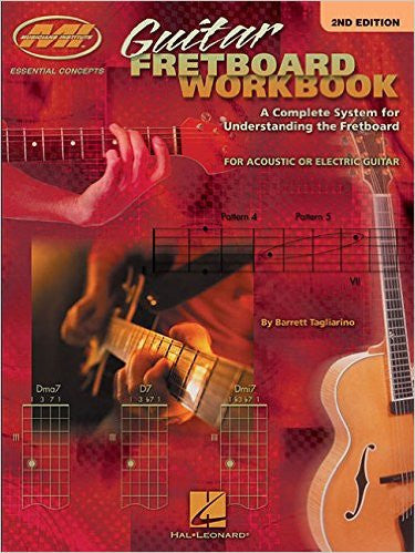 Guitar Fretboard Workbook – 2nd Edition, by Barrett Tagliarino