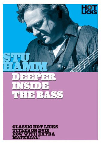 Stu Hamm – Deeper Inside the Bass (DVD)
