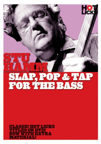 Stu Hamm – Slap, Pop & Tap for the Bass (DVD)