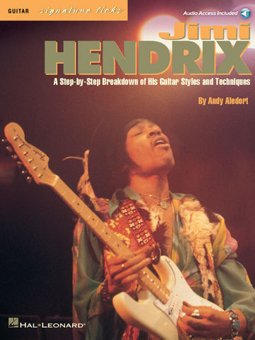 Jimi Hendrix – Signature Licks (Book/Audio)