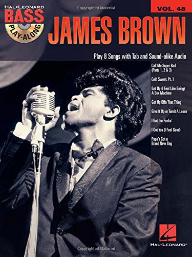 James Brown Bass Play-Along