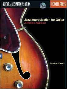 Jazz Improvisation for Guitar, by Garrison Fewell (Book/Audio)