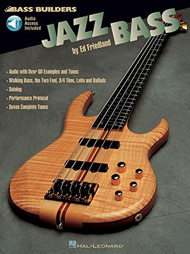 Jazz Bass, by Ed Friedland (Book/Audio)