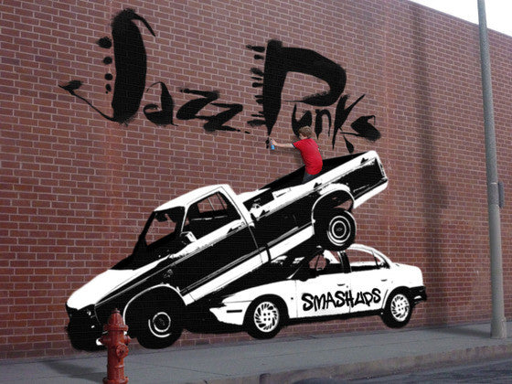 "Jazz Punks, ""Smashups"" (Audio CD)"