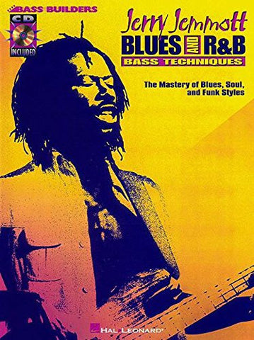 Jerry Jemmott – Blues and Rhythm & Blues Bass Technique (Book/Audio)
