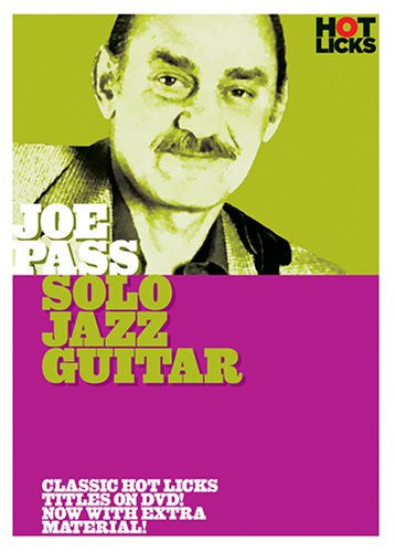 Joe Pass – Solo Jazz Guitar (DVD)