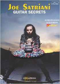 Joe Satriani – Guitar Secrets (Book/Audio)