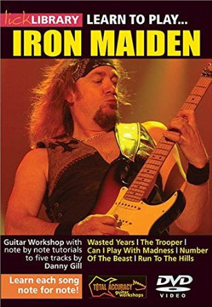 Learn To Play Iron Maiden - Volume 1 (DVD)