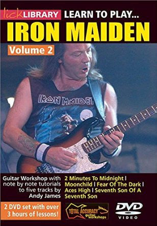 Learn To Play Iron Maiden - Volume 2 (DVD)