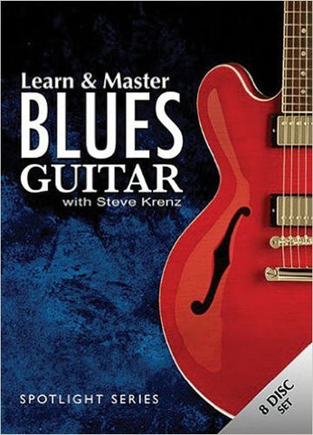 Learn & Master Blues Guitar, Steve Krenz (8-disc set)