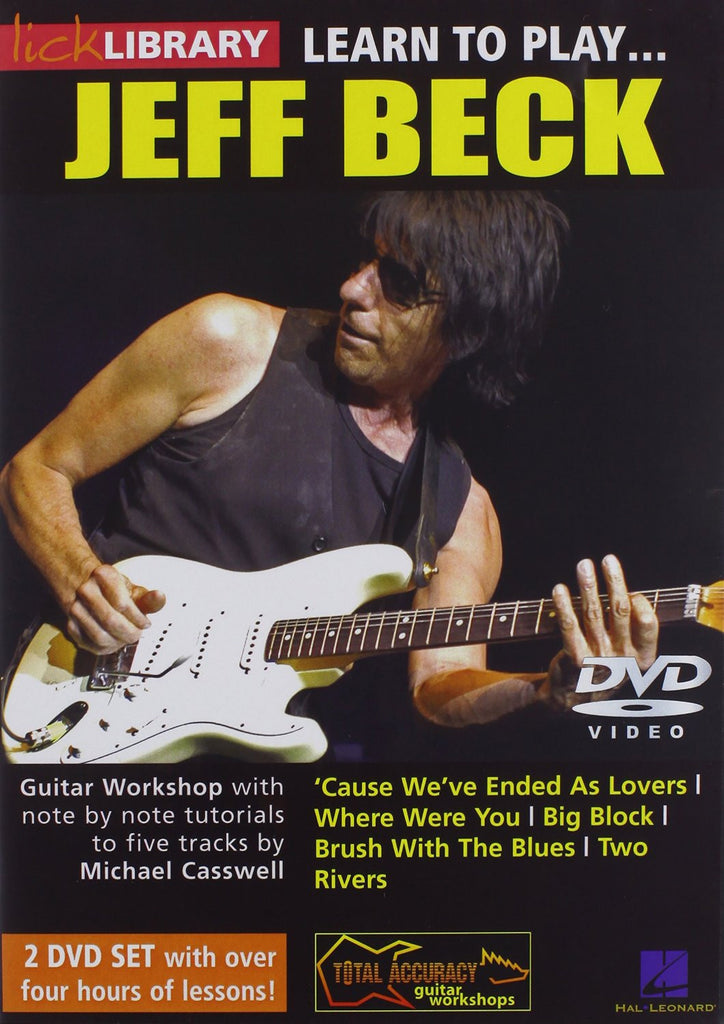 Learn To Play Jeff Beck (2 DVD set)