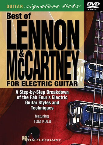 Best of Lennon & McCartney for Electric Guitar (DVD)